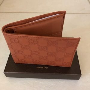 Authentic Guccissima Billfold Wallet